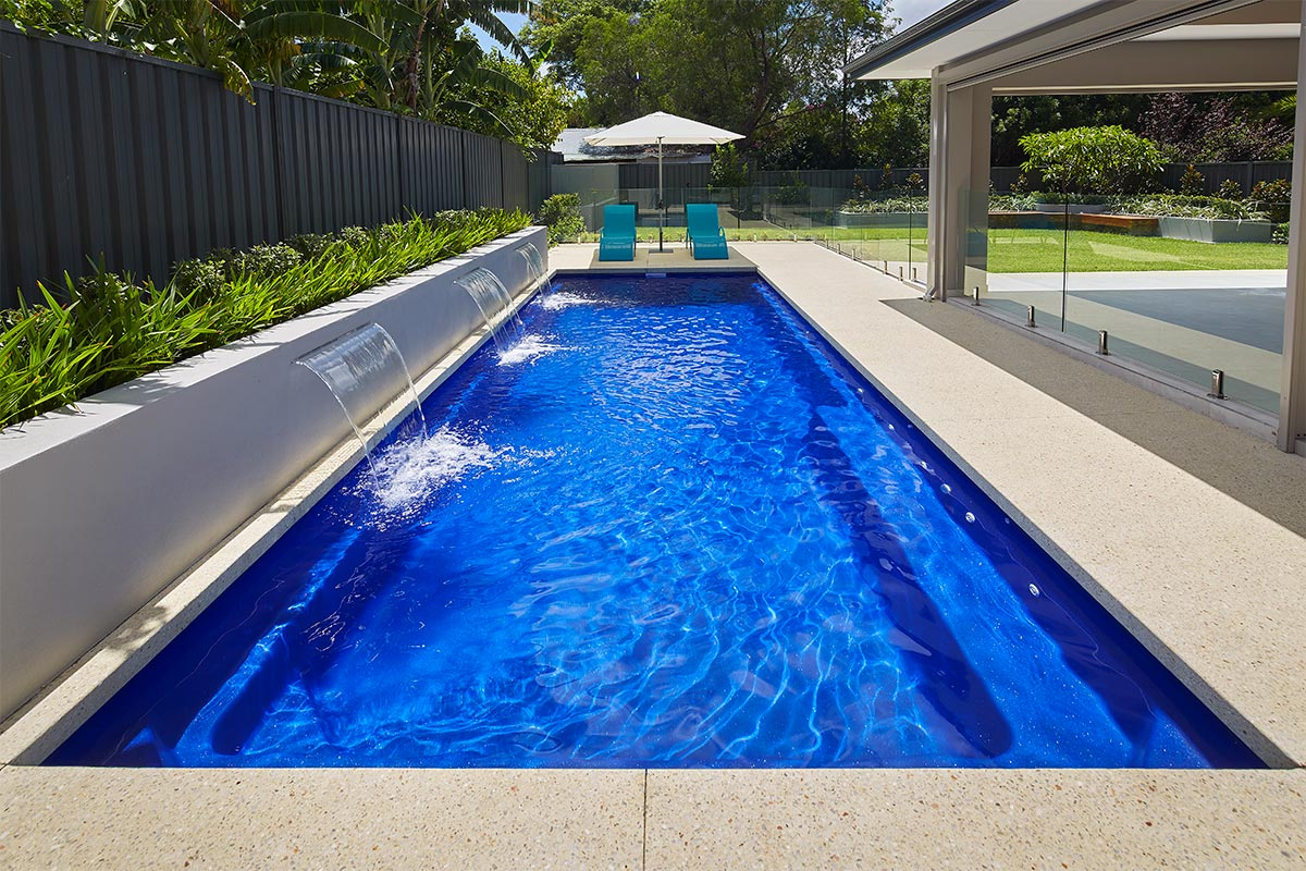 Pool Colour Royal Blue Shimmer