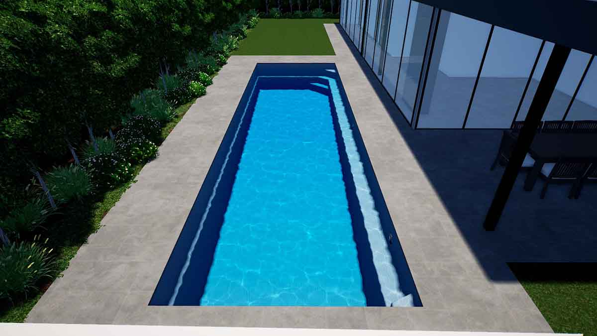 Brampton Lap Pool12.1m x 3.5m