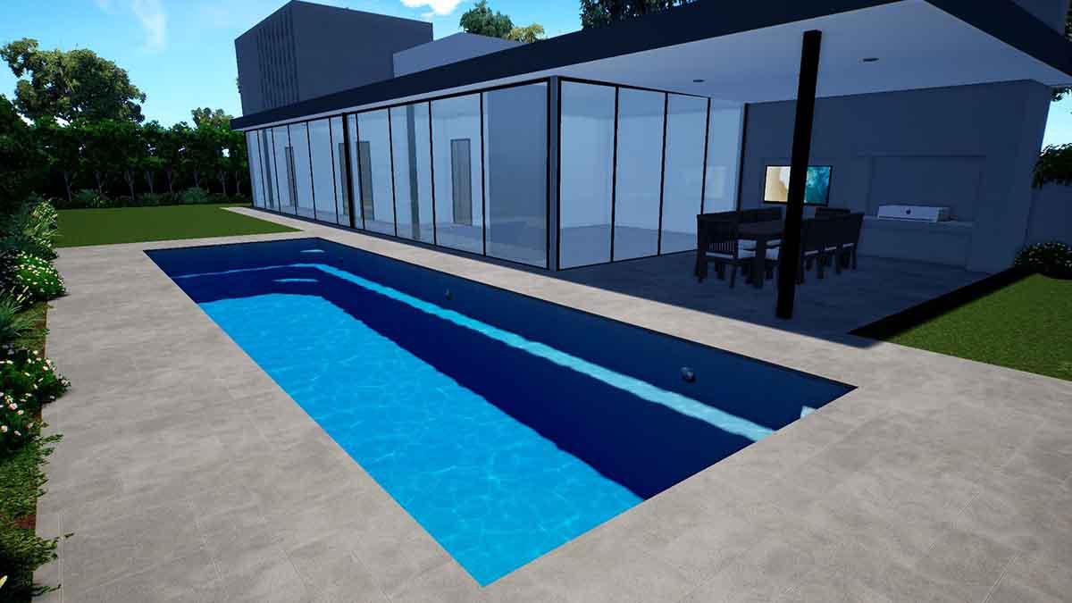 Brampton Lap Pool10.1m x 3.5m