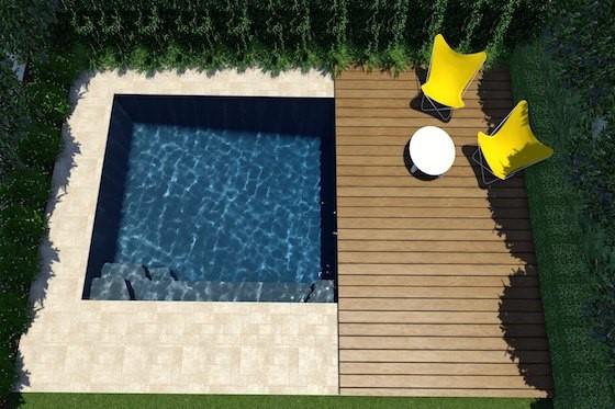 4.5m x 3.6m  Horizon Pool